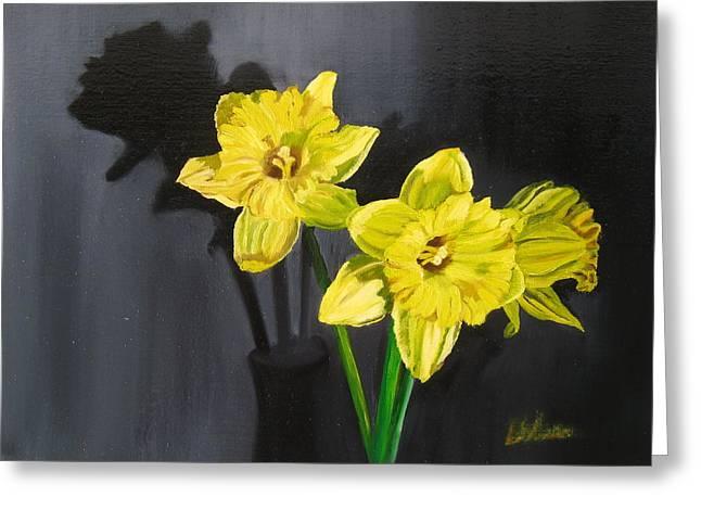 Daffodil's Yellows Greeting Card