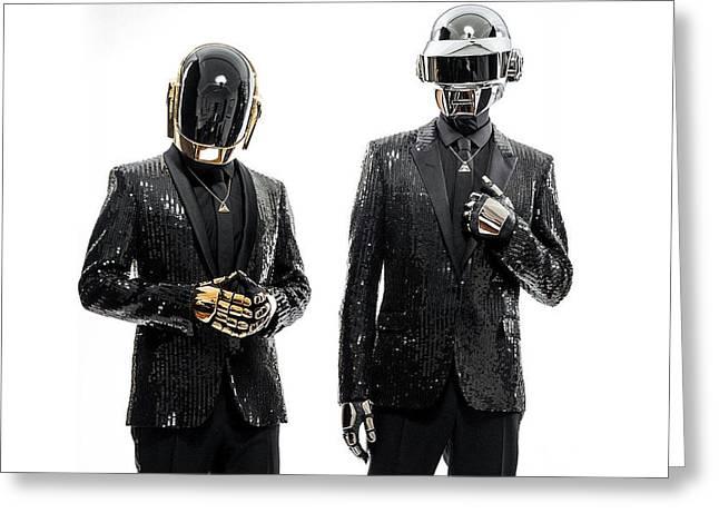 Daft Punk - 955 Greeting Card by Jovemini ART