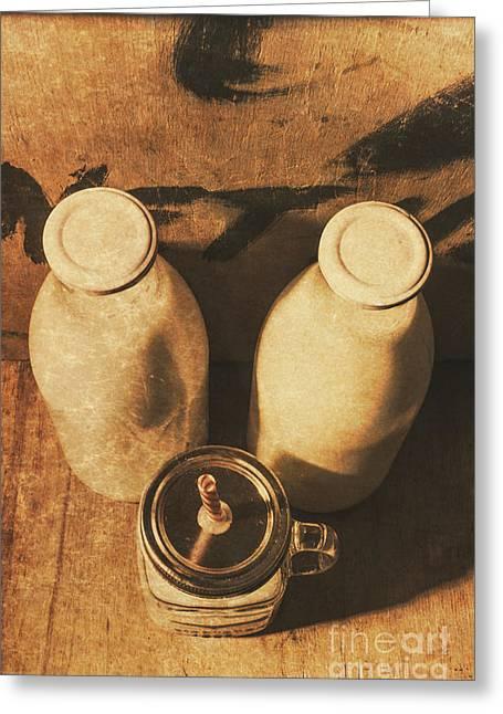 Dairy Nostalgia Greeting Card