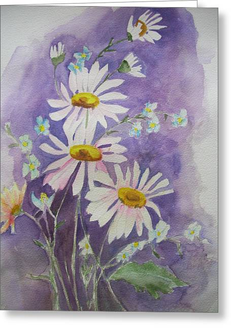 Daisey Bouquet Greeting Card
