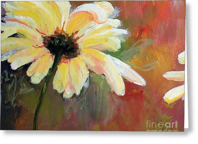 Daisy 1 Of 3 Triptych Greeting Card