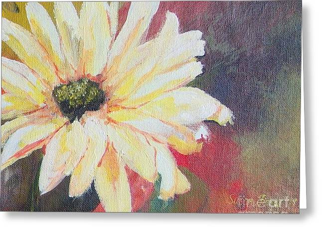 Daisy 3 Of 3 Triptych Greeting Card