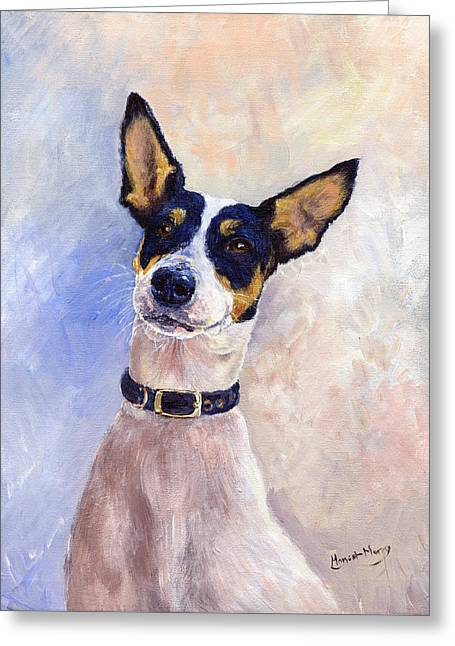Daisy Greeting Card by Margaret Merry