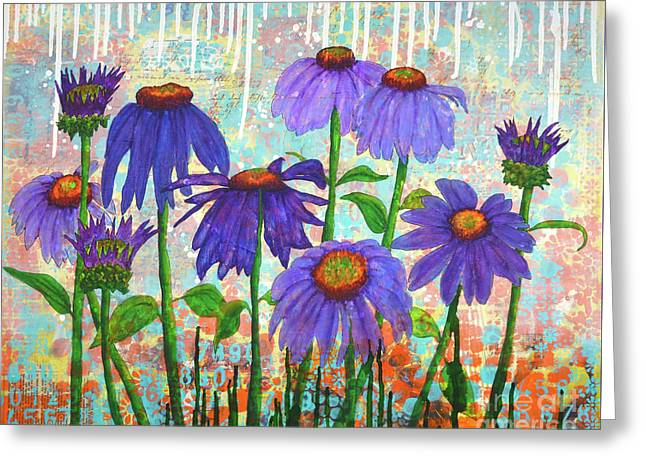 Daisy Masquerade Greeting Card