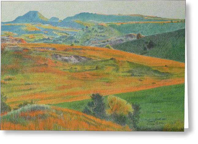 Dakota Prairie Dream Greeting Card
