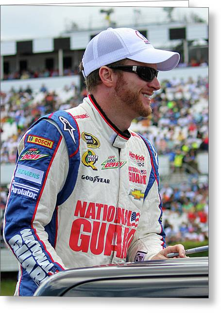 Dale Earnhardt Jr. Greeting Card