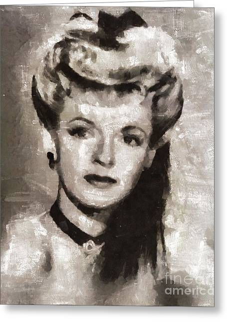 Dale Evans, Actress Greeting Card