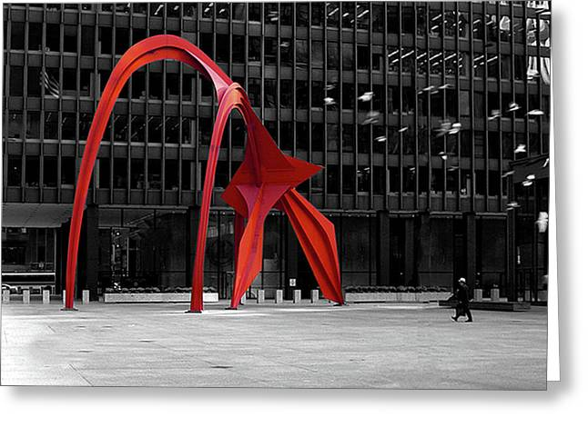 Daley Plaza Greeting Card