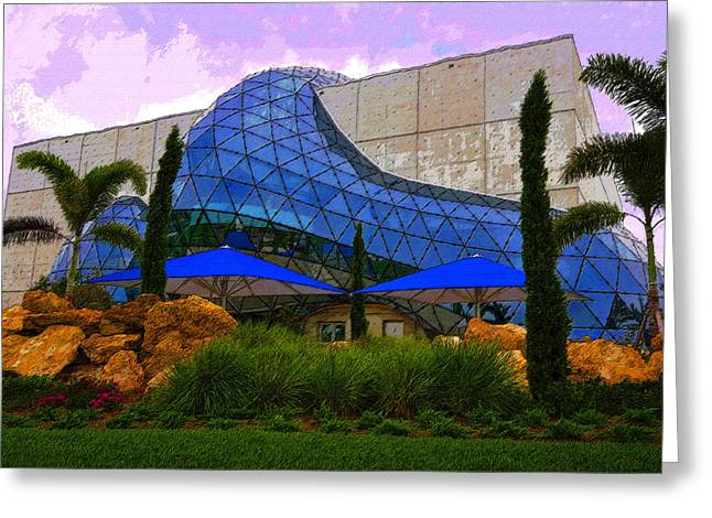 Dali Museum Greeting Card by David Lee Thompson