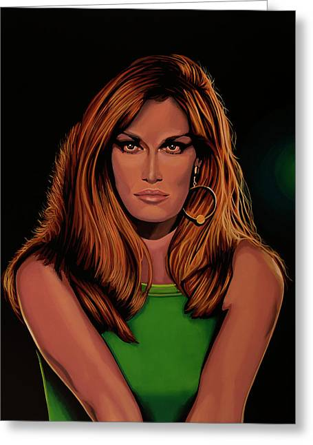 Dalida 2 Greeting Card by Paul Meijering