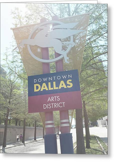 Dallas Arts District Greeting Card
