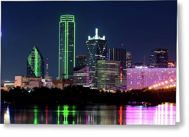 Dallas Colors Pano 2015 Greeting Card