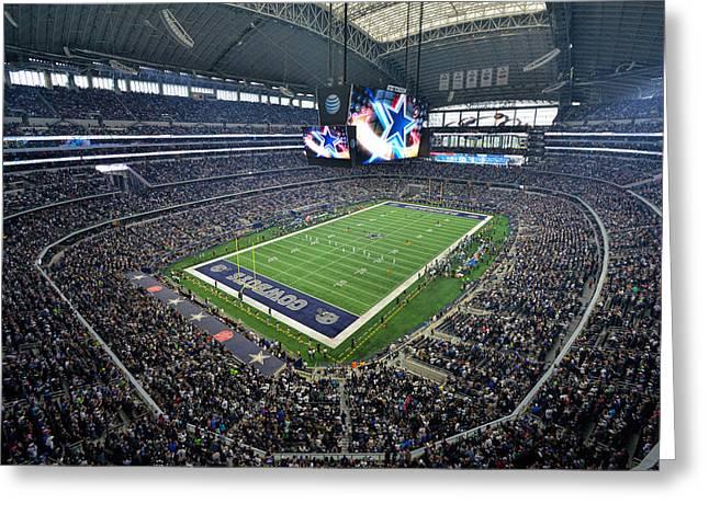 Dallas Cowboys Att Stadium Greeting Card