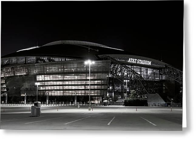 Dallas Cowboys Stadium Greeting Card by Daniel Hagerman