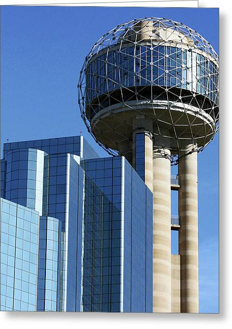 Dallas Dining Scapes Greeting Card