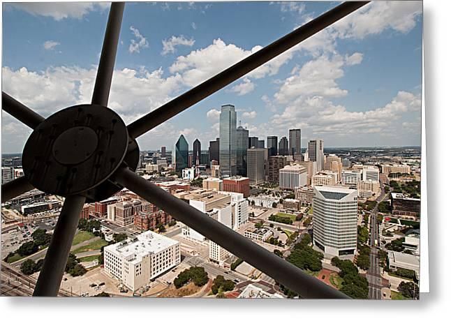 Dallas Downtown Greeting Card