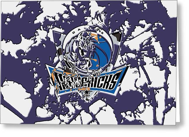 Dallas Mavericks 1b Greeting Card