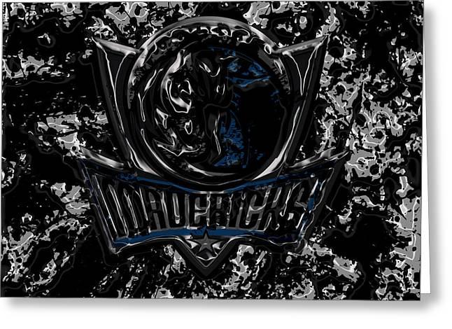 Dallas Mavericks 2d Greeting Card