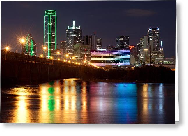 Dallas Reflections Greeting Card