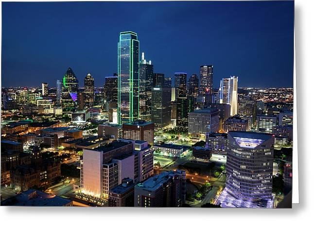 Dallas Vista  Greeting Card
