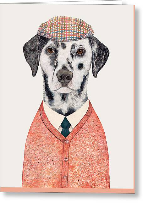 Dalmatian Greeting Card by Animal Crew