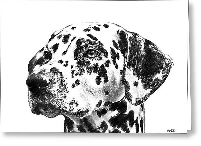 Dalmatians - Dwp765138 Greeting Card