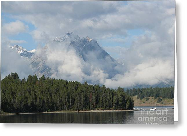 Dam Clouds Greeting Card by Greg Patzer