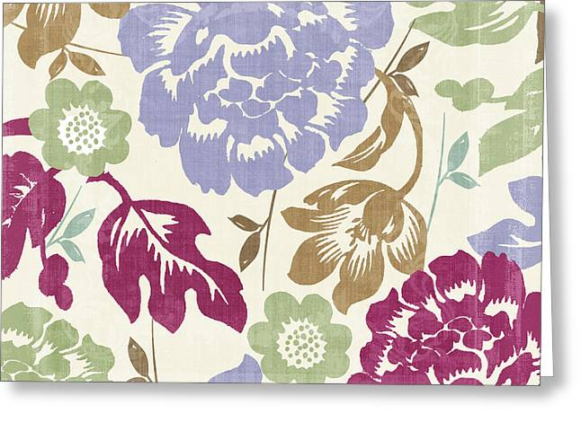 Damask Forest Greeting Card