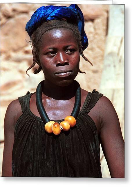 Damasongo 1987 Greeting Card by Huib Blom