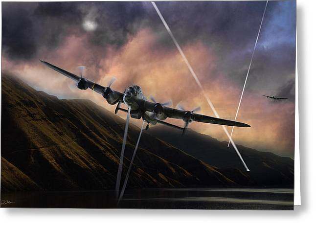Dambusters   Greeting Card by Peter Chilelli
