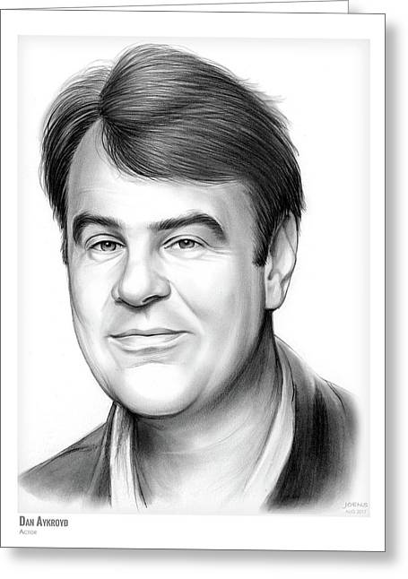 Dan Aykroyd Greeting Card