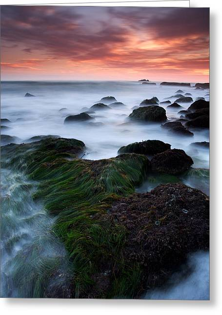 Dana Point Sunset Greeting Card by Eric Foltz