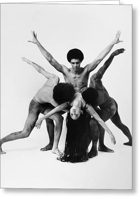 Dance: Alvin Ailey Greeting Card