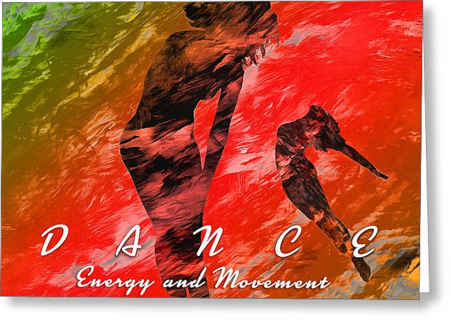 Dance Greeting Card by Anthony Caruso