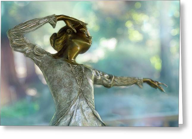Dance Gesture Greeting Card by Terry Davis