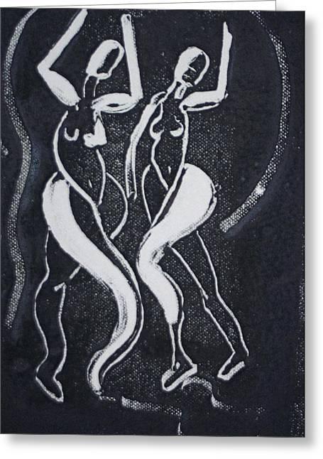 Dance IIi Greeting Card by Dan Earle