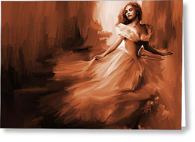 Dance In A Dream 01 Greeting Card by Gull G