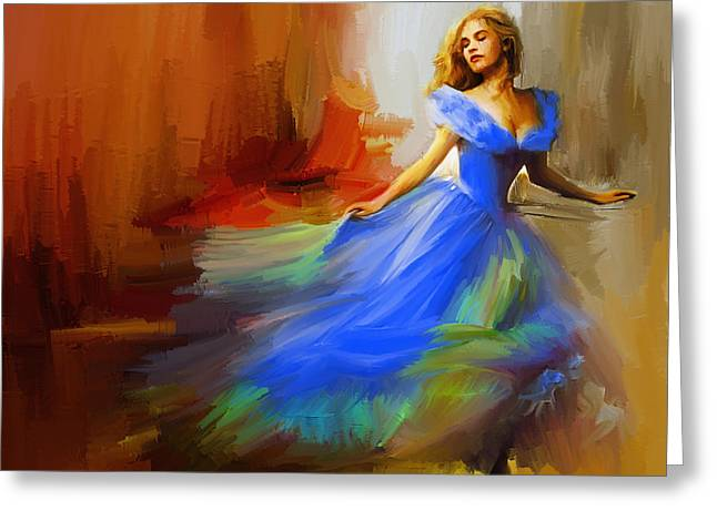 Dance In A Dream Greeting Card by Gull G