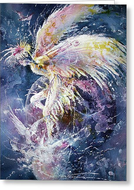 Dance In Flight Greeting Card