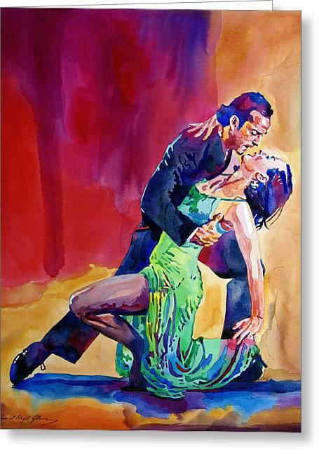 Dance Intense Greeting Card