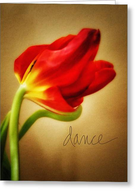Dance Greeting Card by Mary Timman