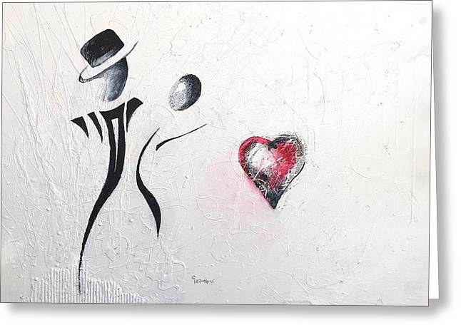 Dance Of Lovers Greeting Card