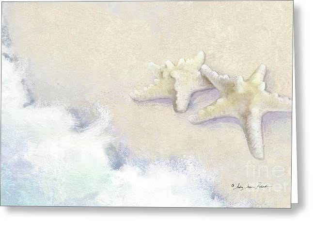 Dance Of The Sea - Knobby Starfish Impressionstic Greeting Card