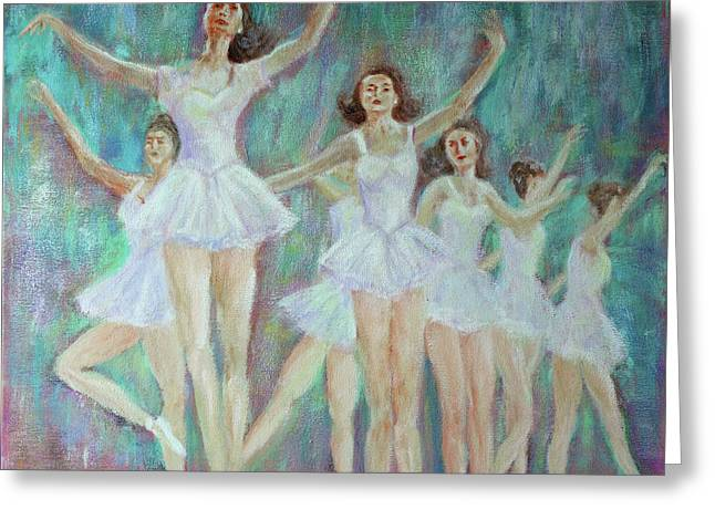 Dance Rehearsal Greeting Card