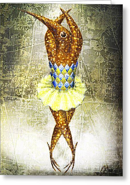 Dancer 2  Greeting Card by Lolita Bronzini