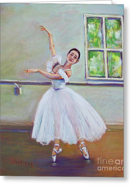 Dancer Greeting Card by Joyce A Guariglia