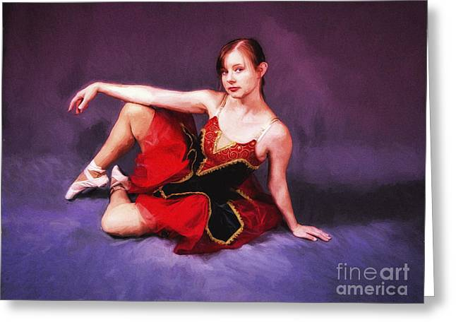Dancer No. 6  ... Greeting Card