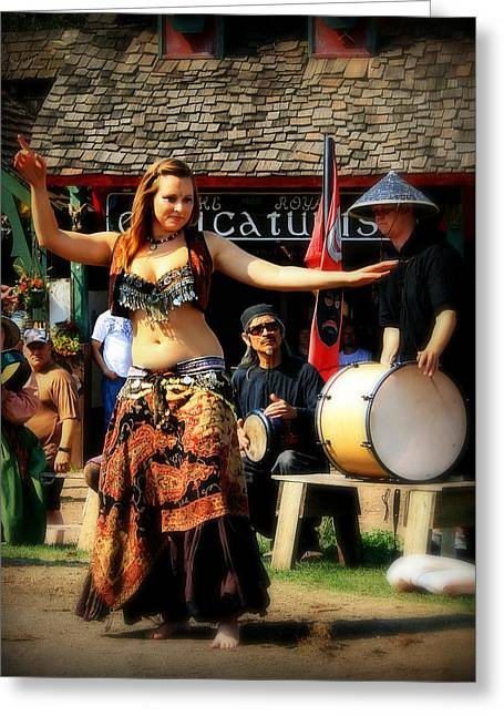 Dancer Pictures Greeting Cards - Dancer Greeting Card by Perry Webster