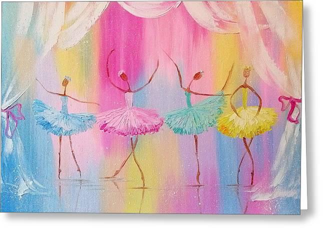 Dancers Greeting Card