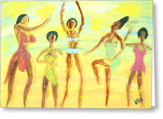 Dancers Greeting Card